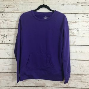 Nike Purple Therma-Fit Long Sleeve Sweater